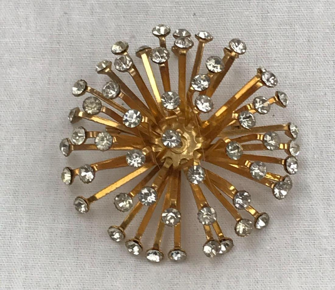 Mid-Century Modern Atomic Star Brooche, Jewelry