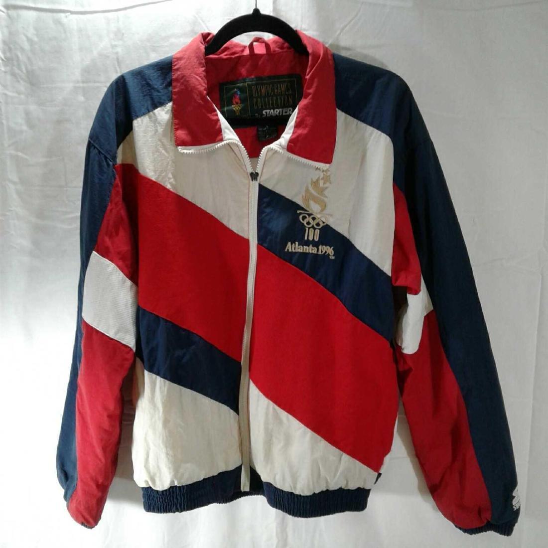 Vintage 1996 Atlanta Olympics Starter Jacket, Small