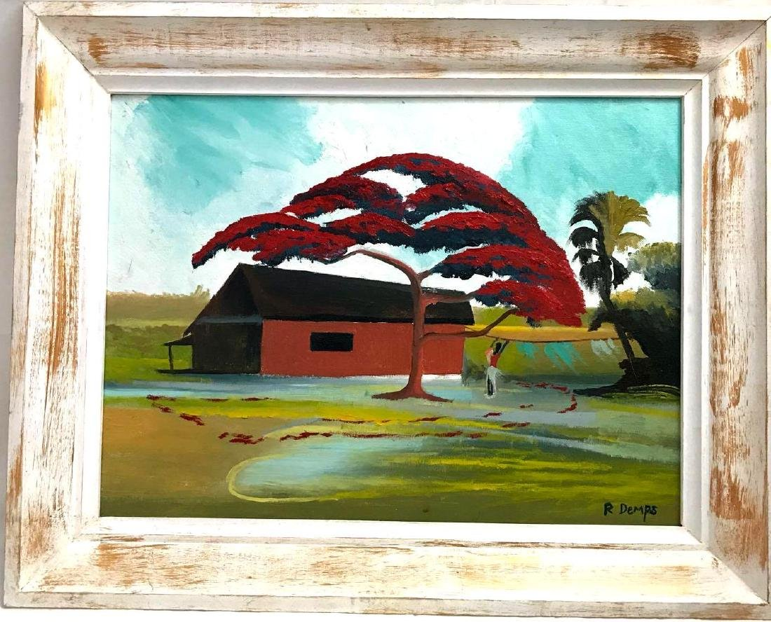 Florida Highwaymen Rodney Demps Original Painting