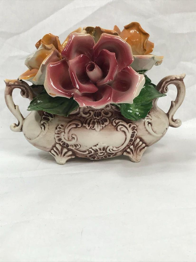 Capidimonte Porcelain Floral Display - 7