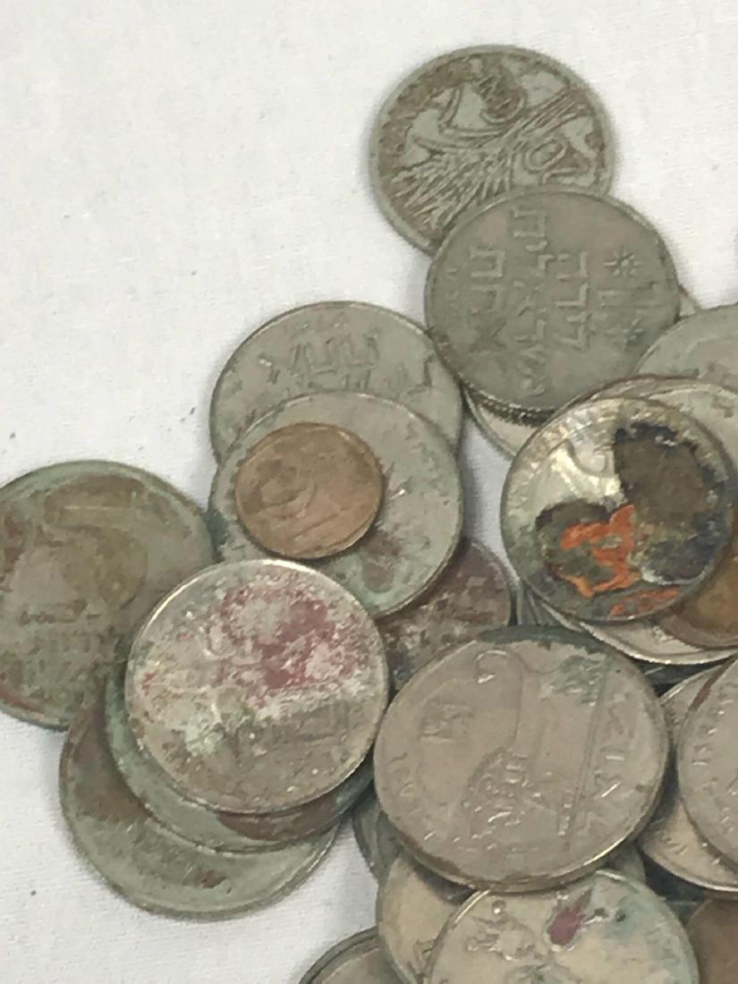 217 Vintage Israeli Coins - 10