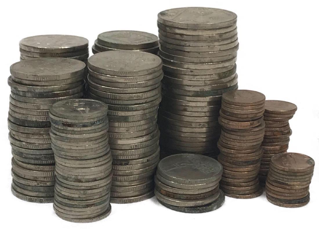 217 Vintage Israeli Coins