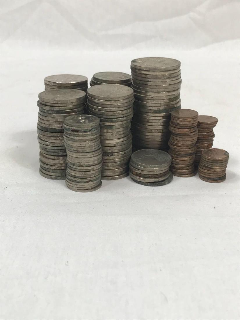 217 Vintage Israeli Coins - 2