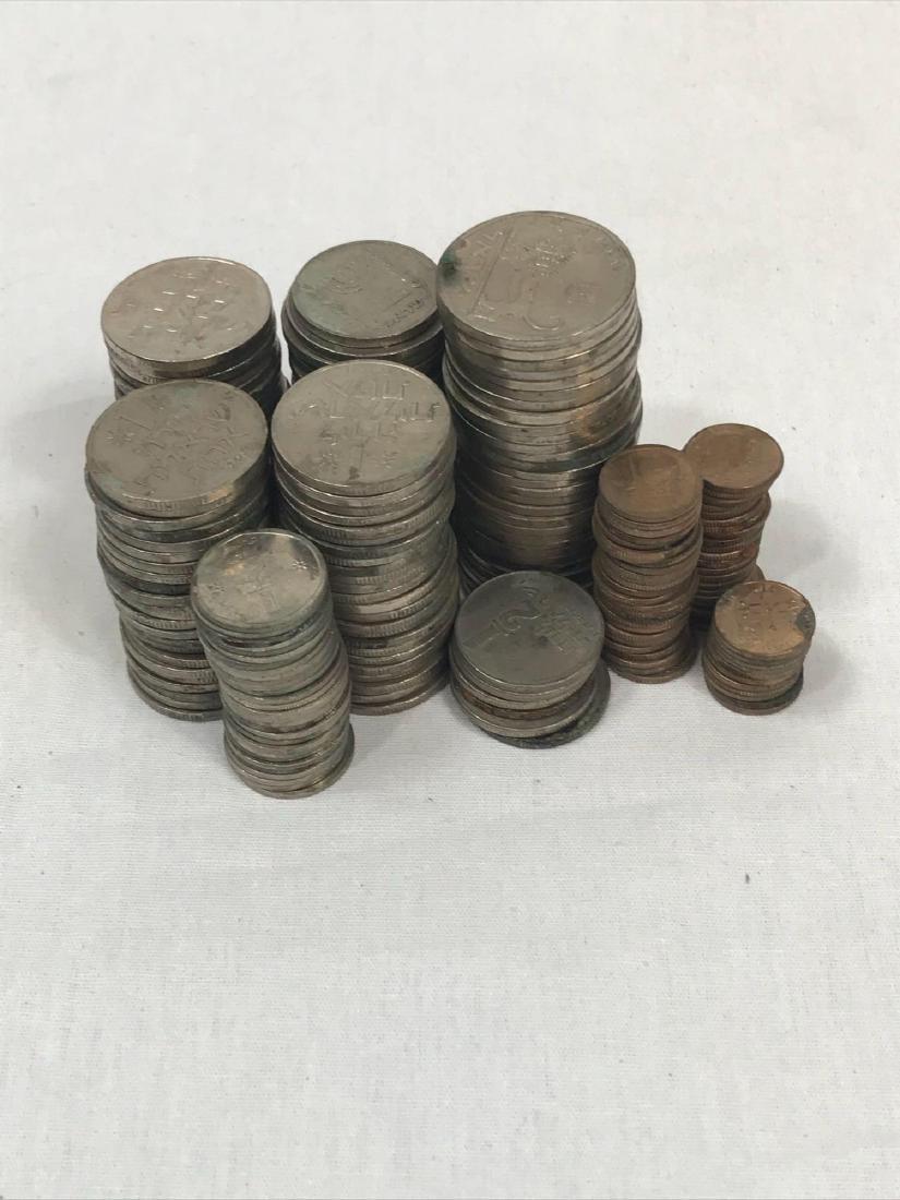 217 Vintage Israeli Coins - 3