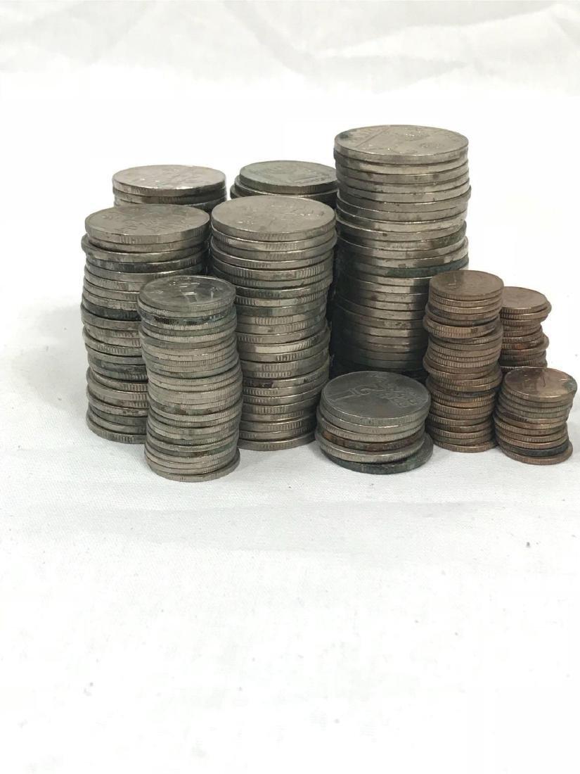 217 Vintage Israeli Coins - 4
