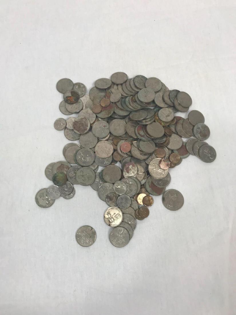 217 Vintage Israeli Coins - 7