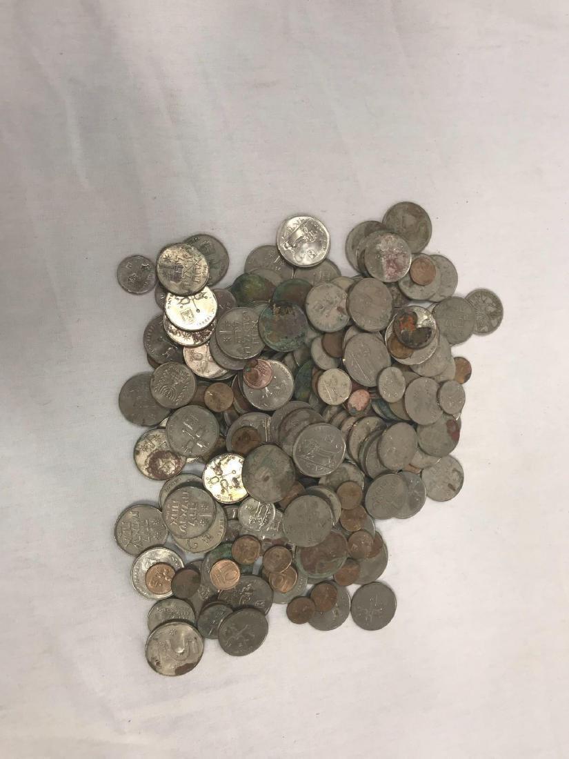 217 Vintage Israeli Coins - 8