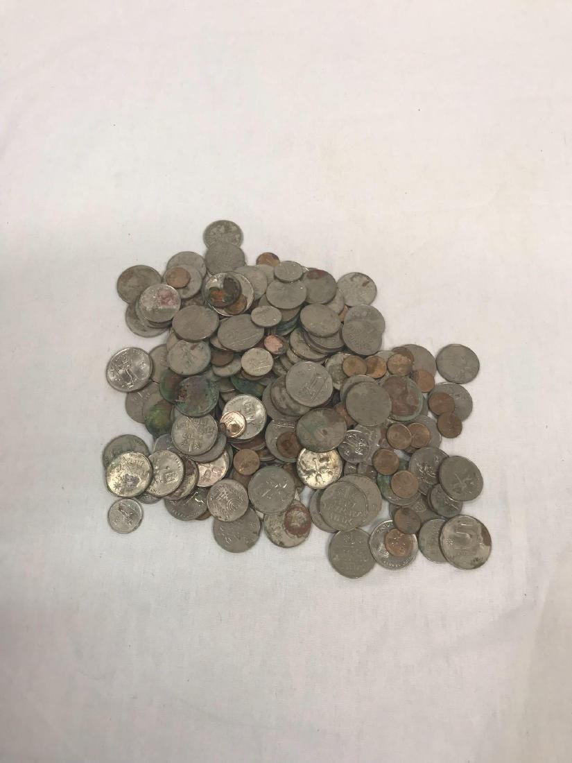 217 Vintage Israeli Coins - 9