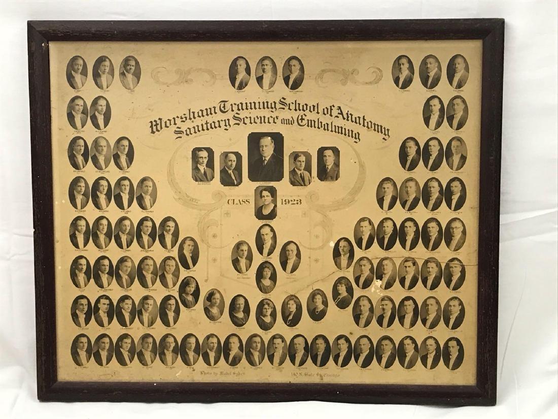 Worsham School Of Mortuary Sciences Class of 1923