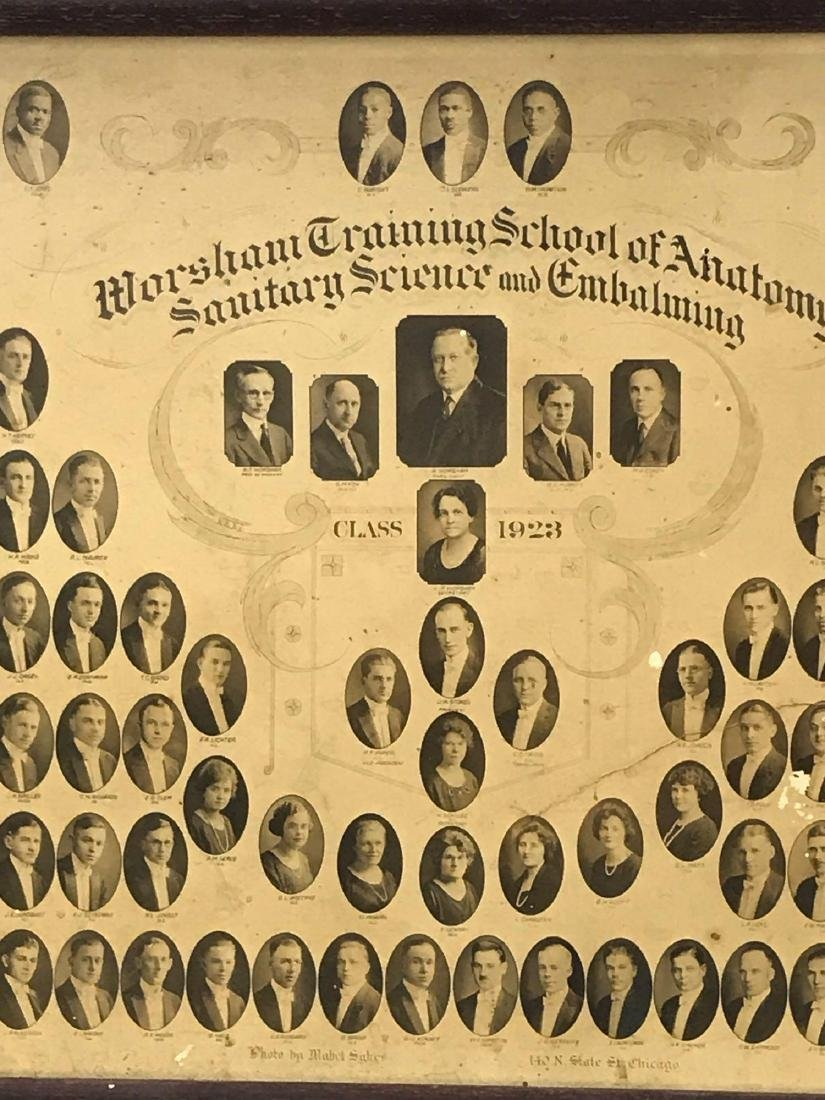 Worsham School Of Mortuary Sciences Class of 1923 - 3