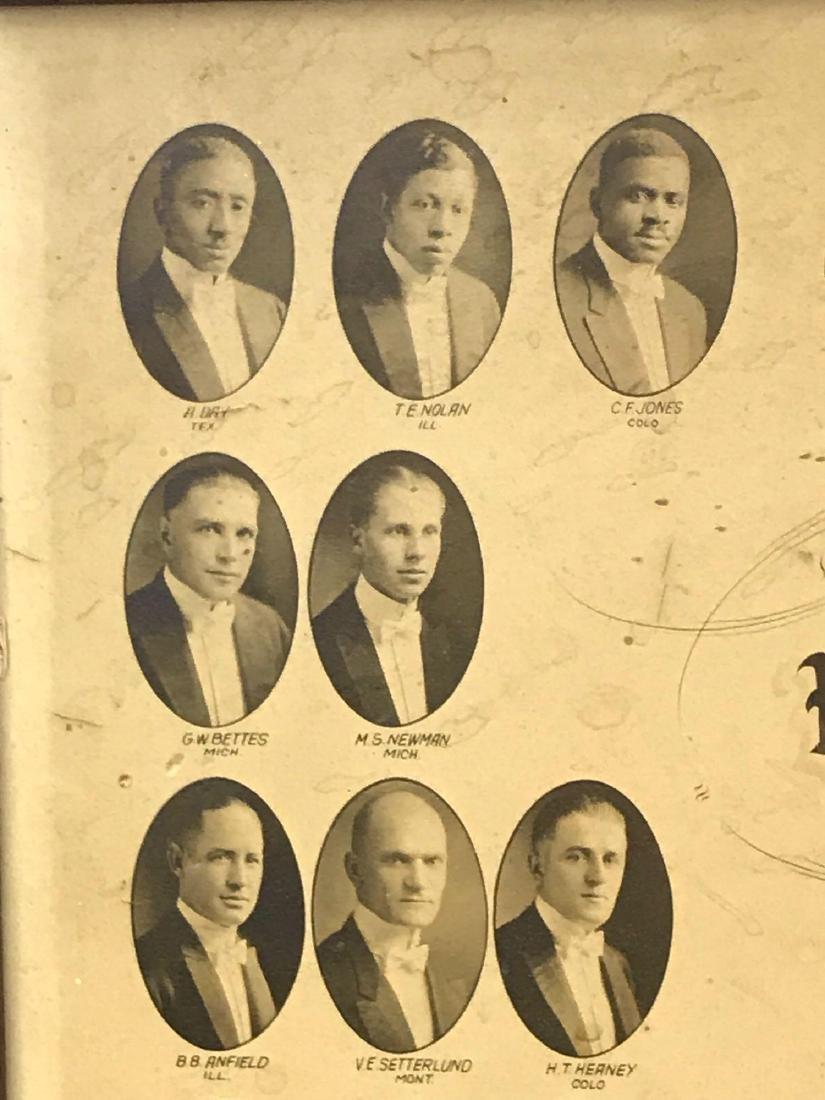 Worsham School Of Mortuary Sciences Class of 1923 - 6