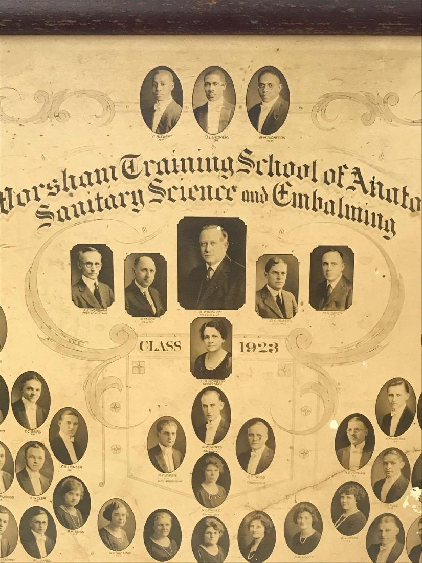 Worsham School Of Mortuary Sciences Class of 1923 - 8