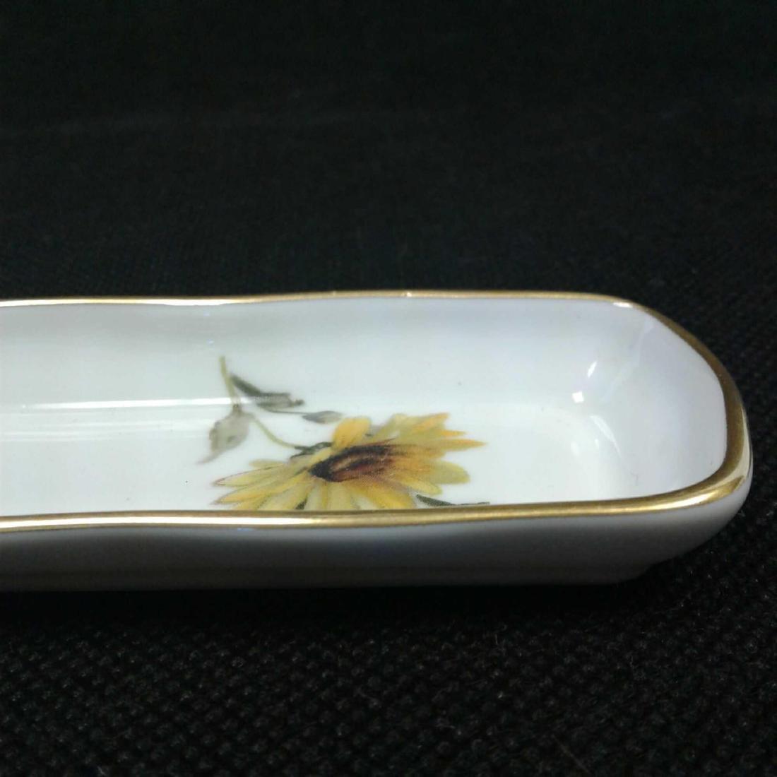 LEC Limoges Long Celery Dish - 6