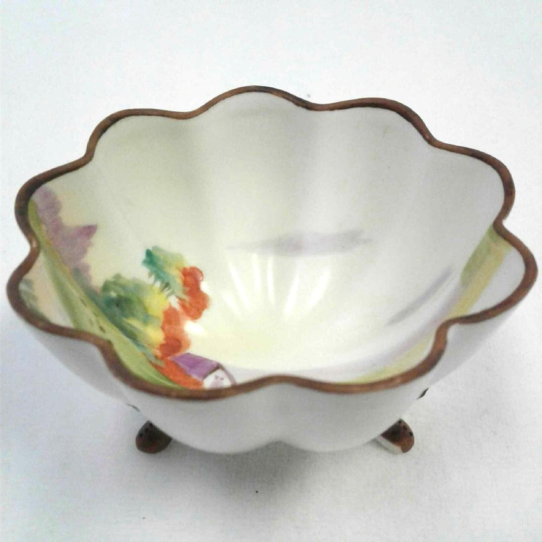 Small Hand Painted Nippon Trinket Dish