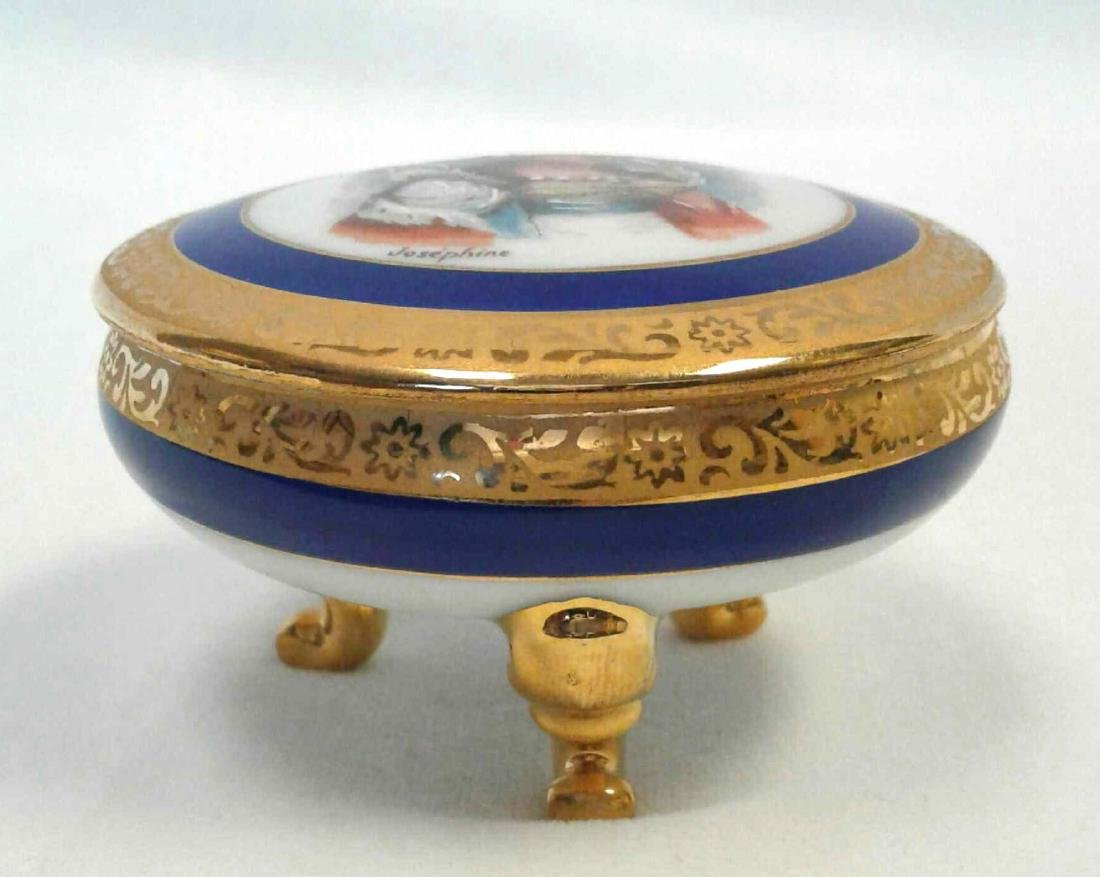 Small Limoges Trinket with Lid