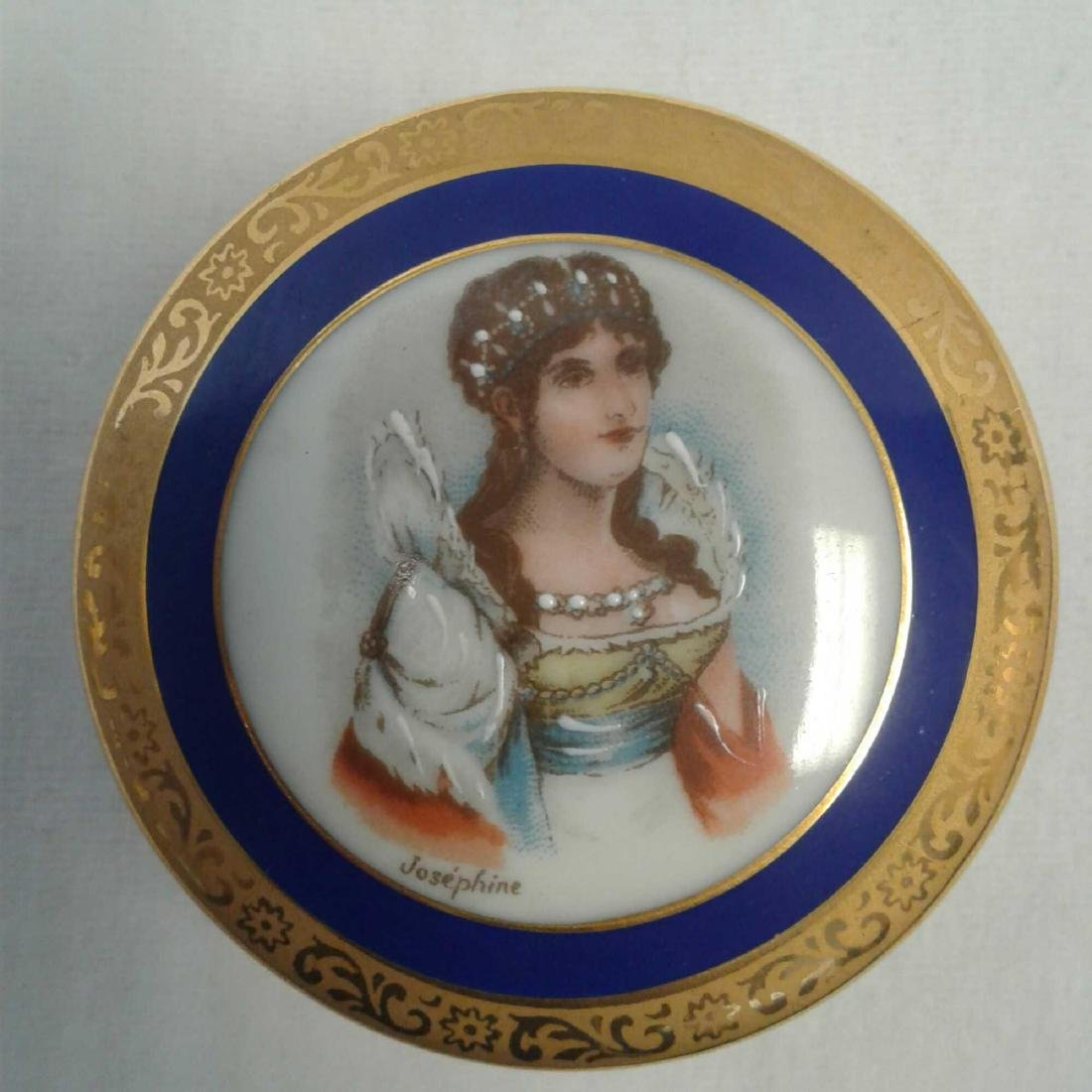 Small Limoges Trinket with Lid - 3