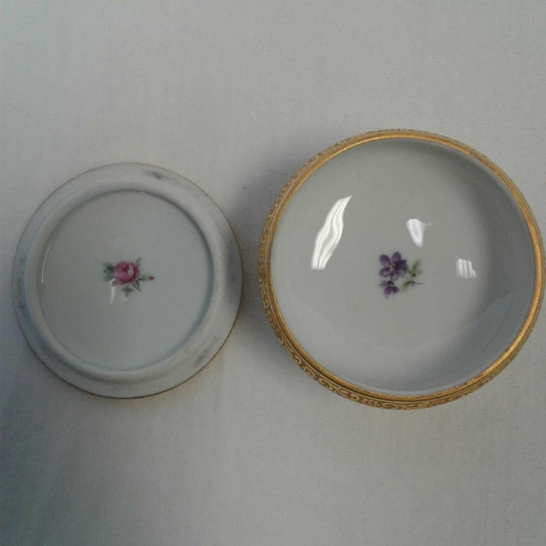 Small Limoges Trinket with Lid - 5