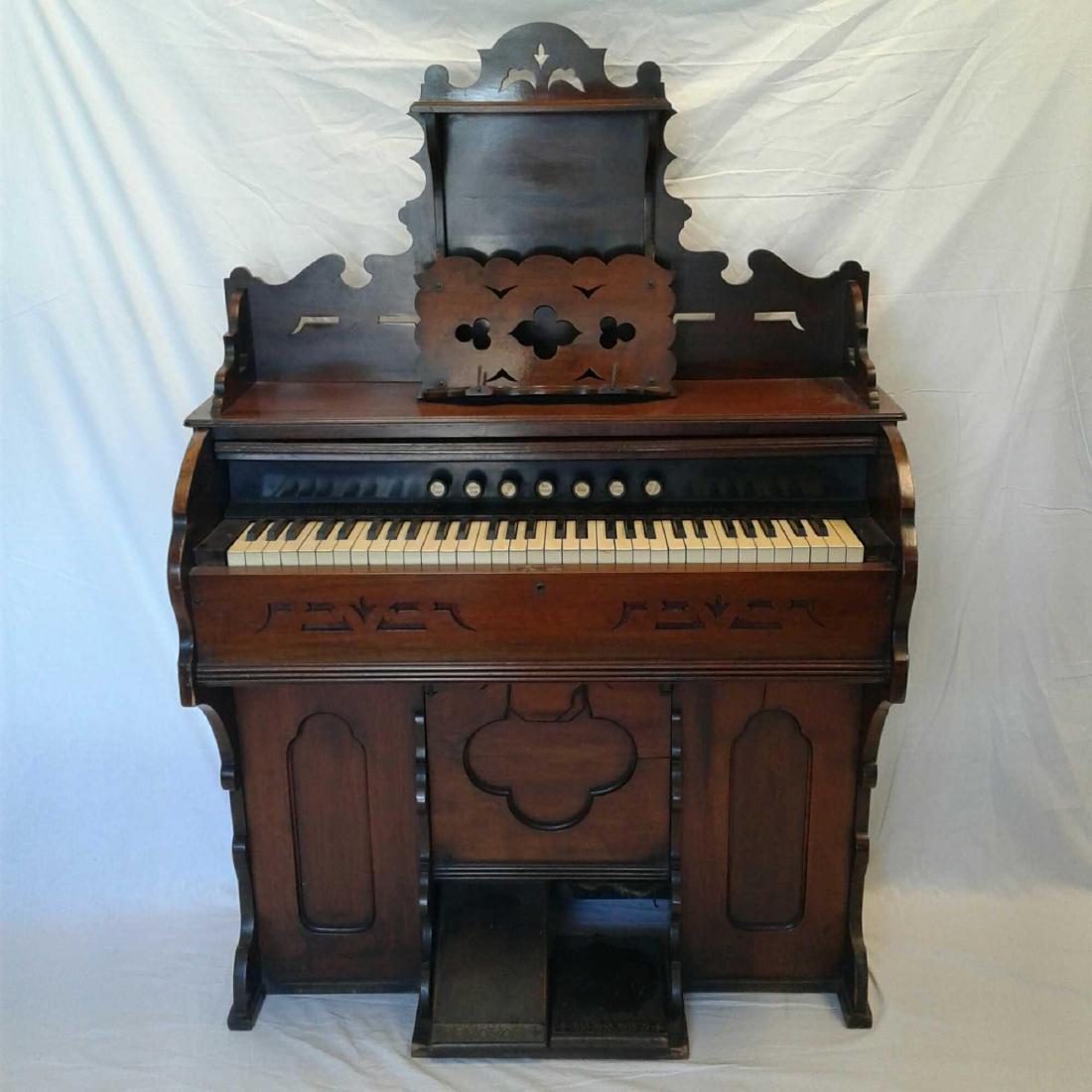 Antique Pump Organ