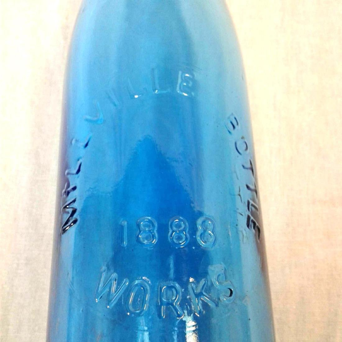 Blue Millville Bottle - 5