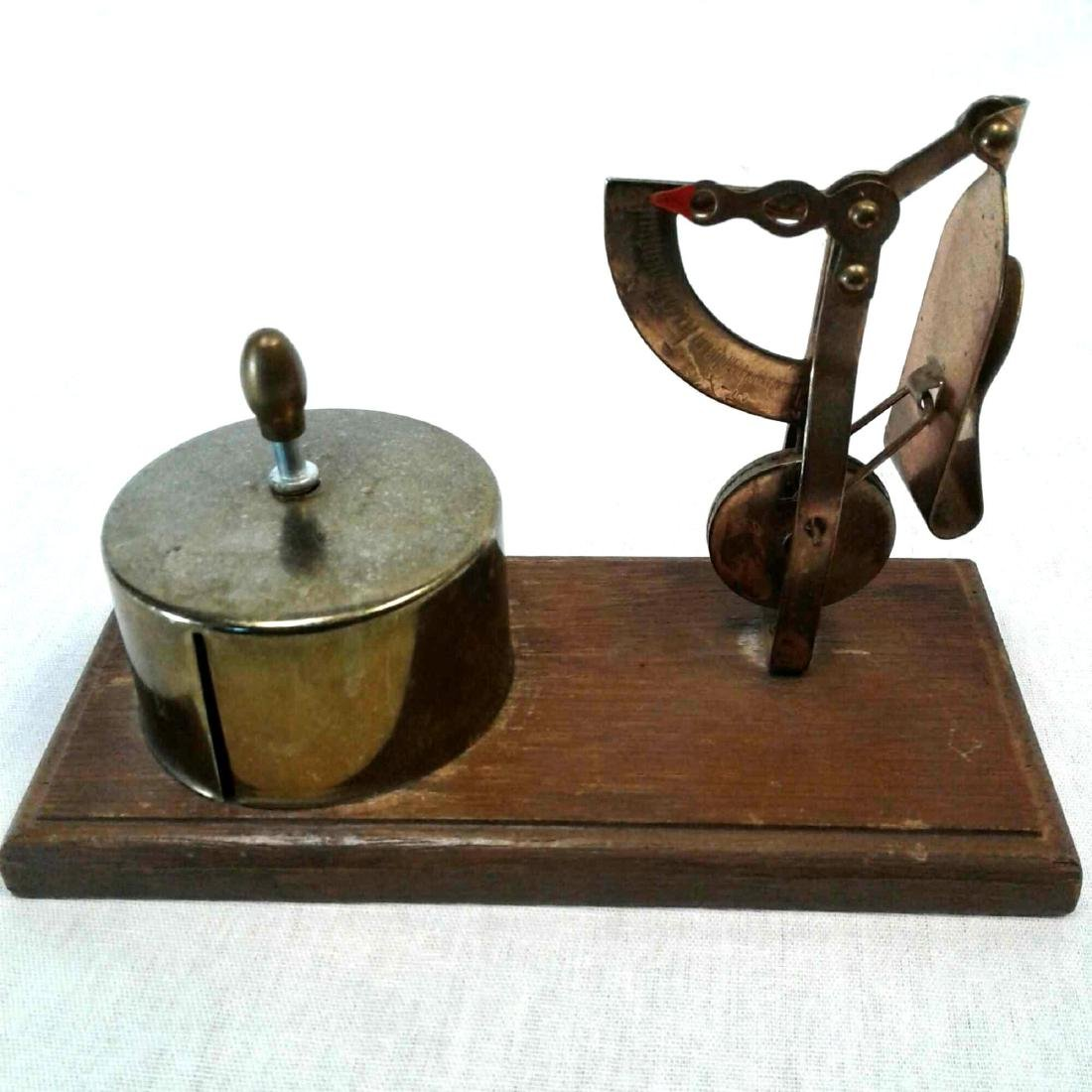 Postal Scale and Stamp Dispenser