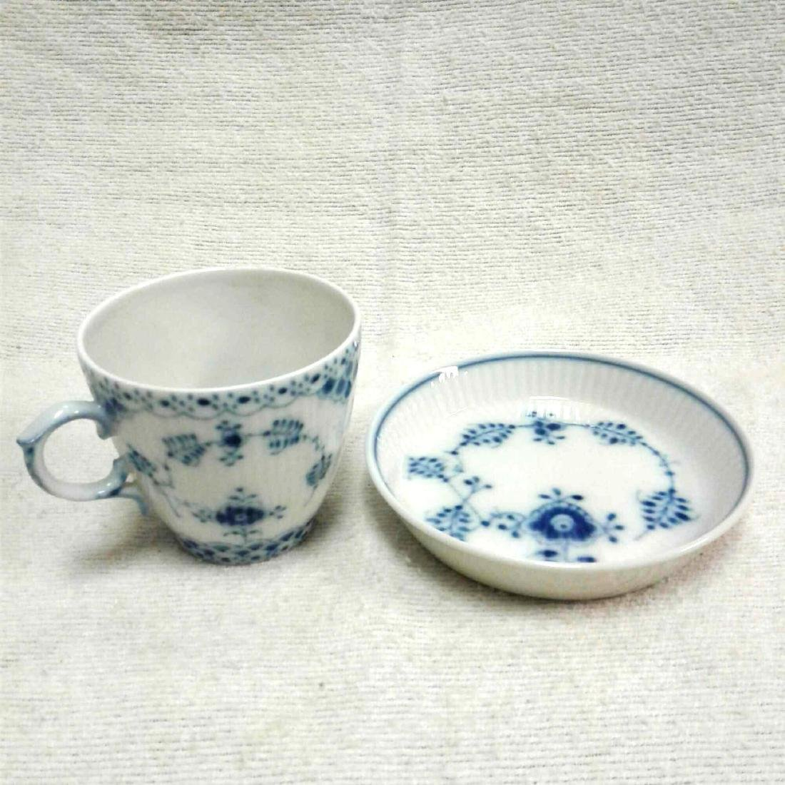 Royal Copenhagen Fine China Tea Cup and Saucer