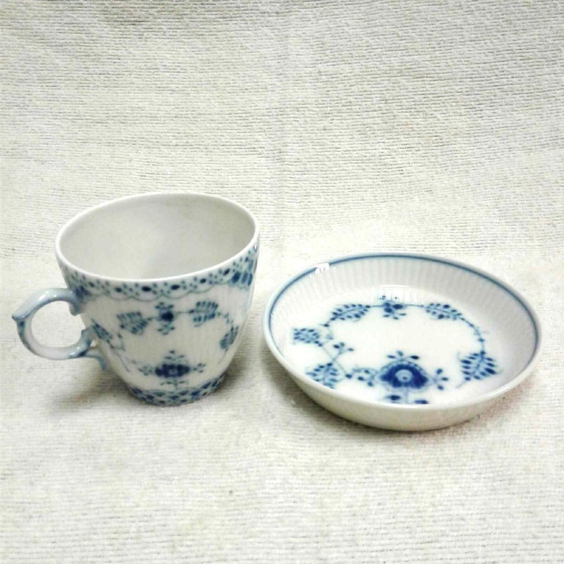 Royal Copenhagen Fine China Tea Cup and Saucer