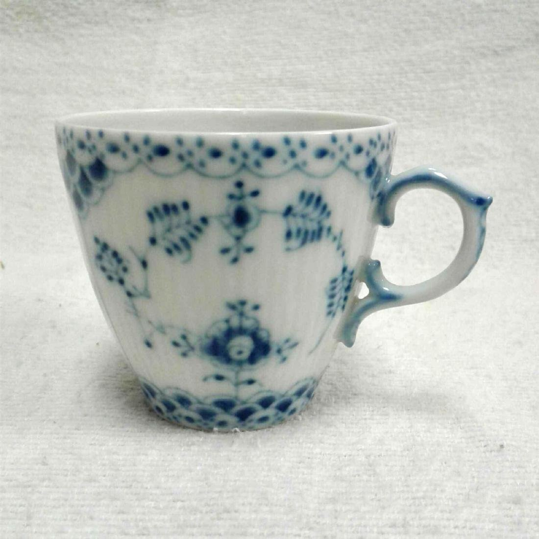 Royal Copenhagen Fine China Tea Cup and Saucer - 4