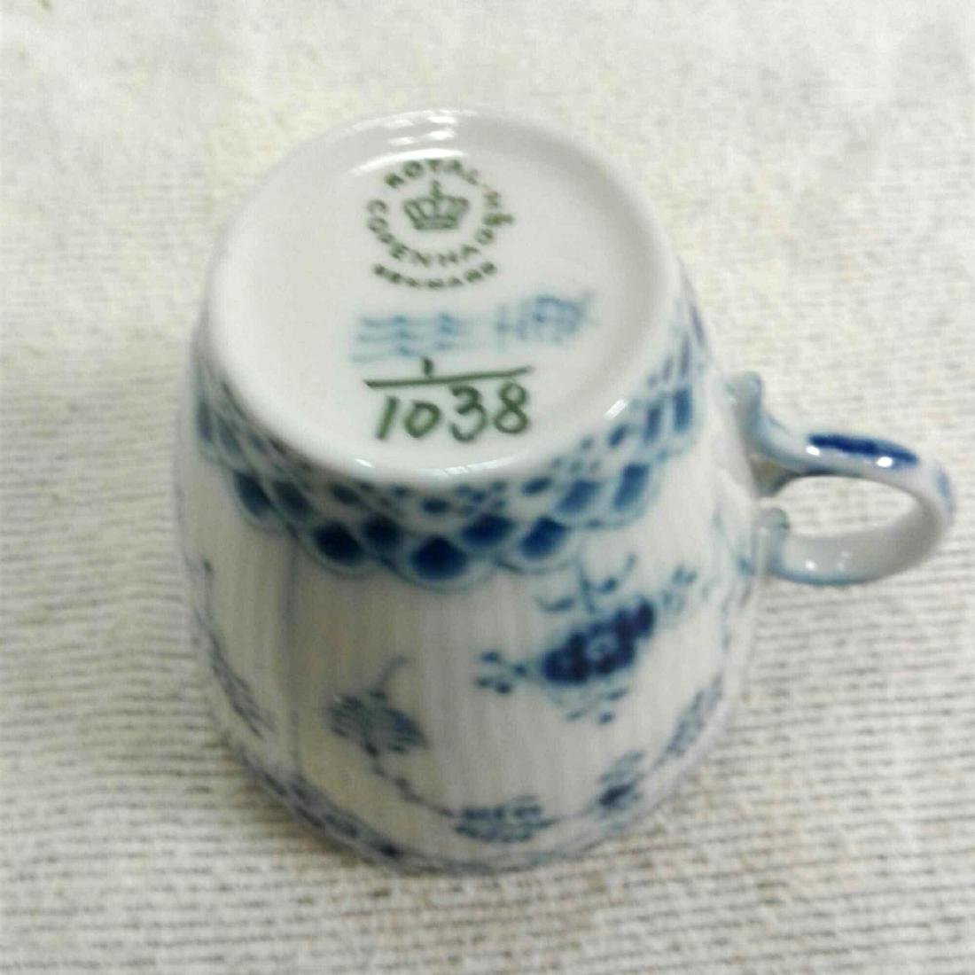Royal Copenhagen Fine China Tea Cup and Saucer - 5