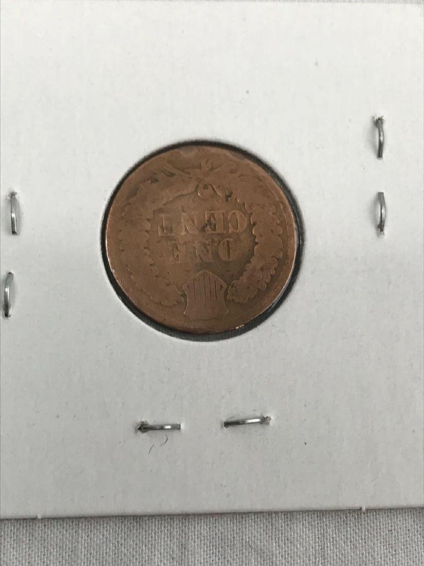 6 Indian Head U.S. One Cent Coin - 4