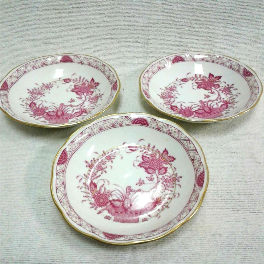 3 Theodore Haviland Dessert Plates