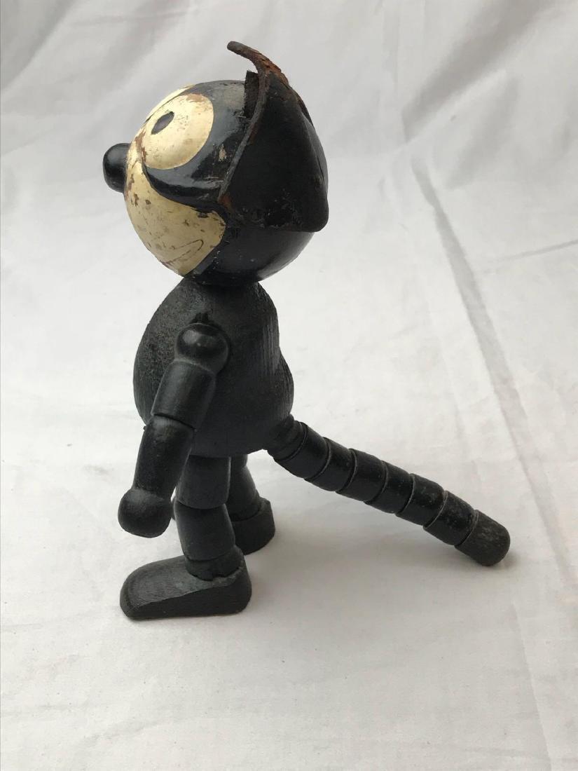 Felix The Cat Schoenhut Wooden Figure - 10