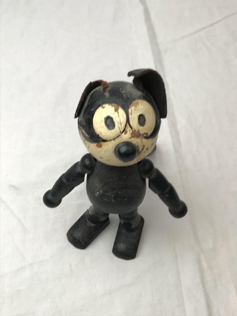 Felix The Cat Schoenhut Wooden Figure - 4