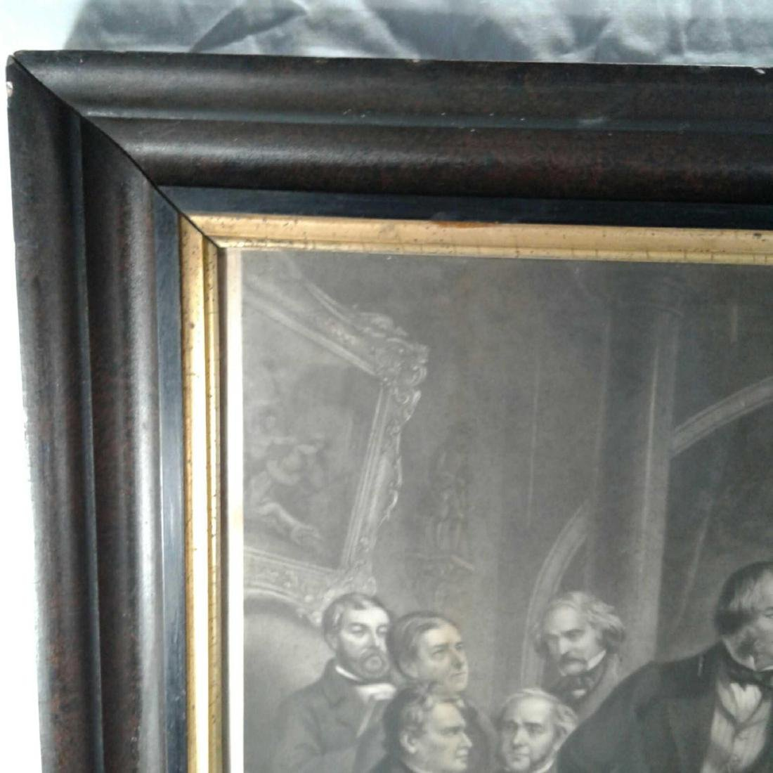 "Framed Print of ""Washington Irving and His Literary - 10"