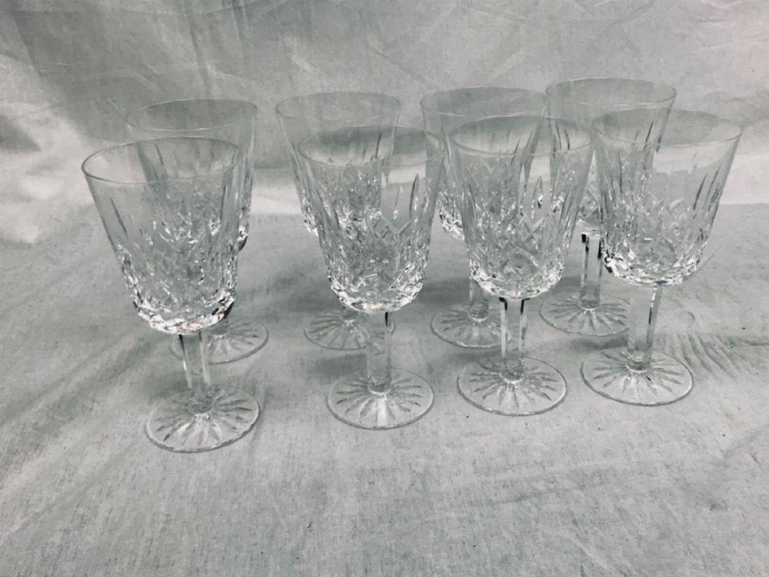 8 Waterford Glass Lismore Collection