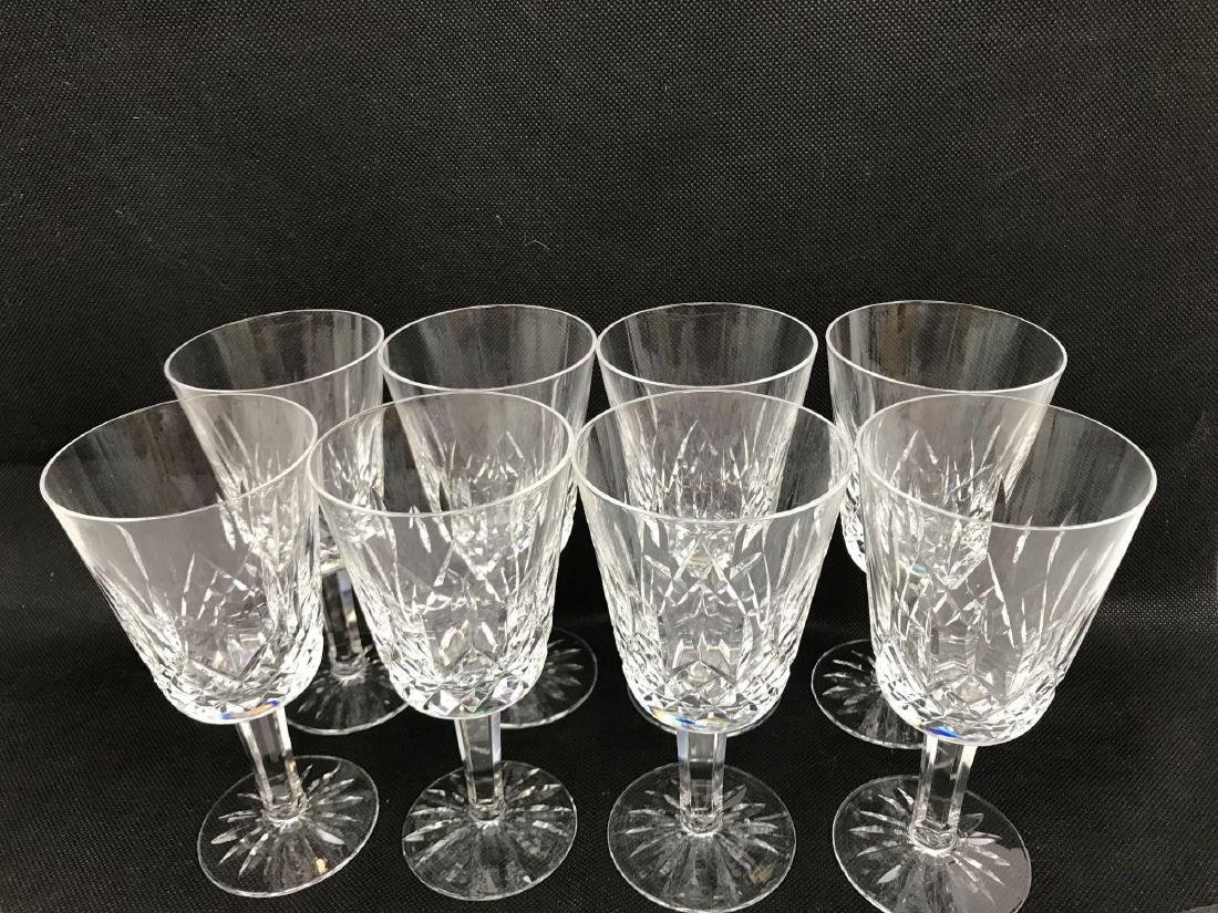 8 Waterford Glass Lismore Collection - 2