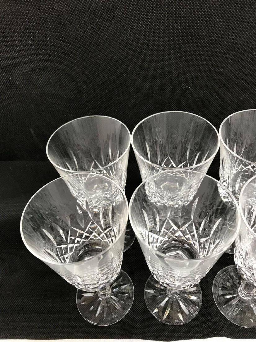 8 Waterford Glass Lismore Collection - 4