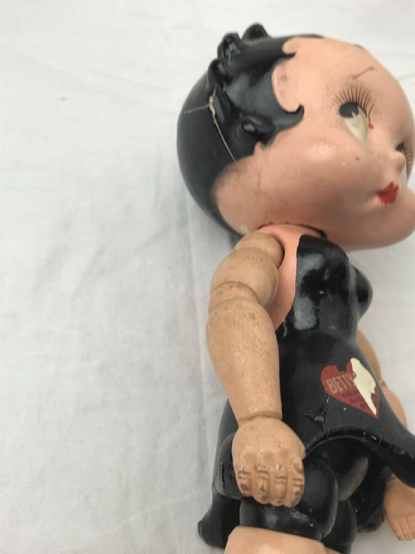 Vintage Black Betty Boop Doll - 5
