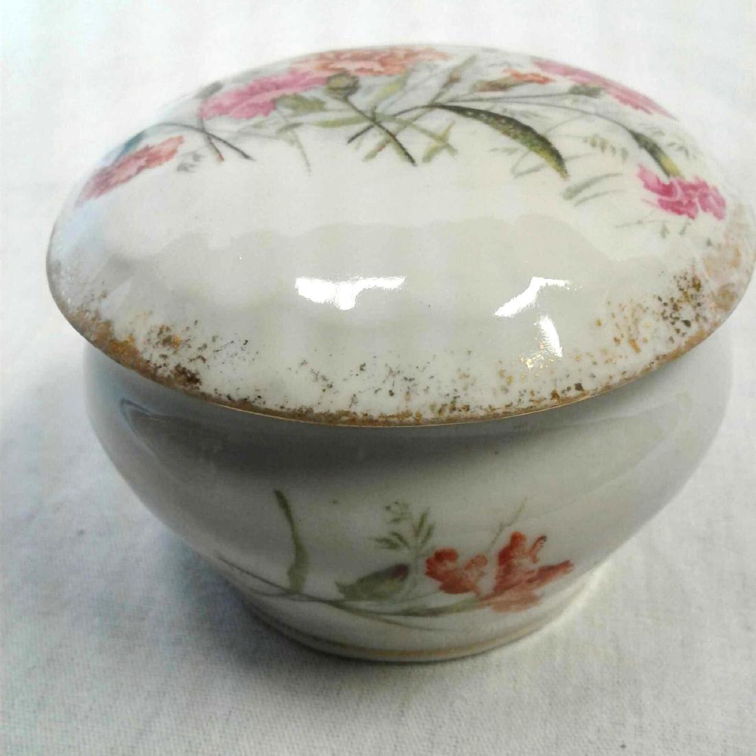 KPM Porcelain Lidded Trinket Dish