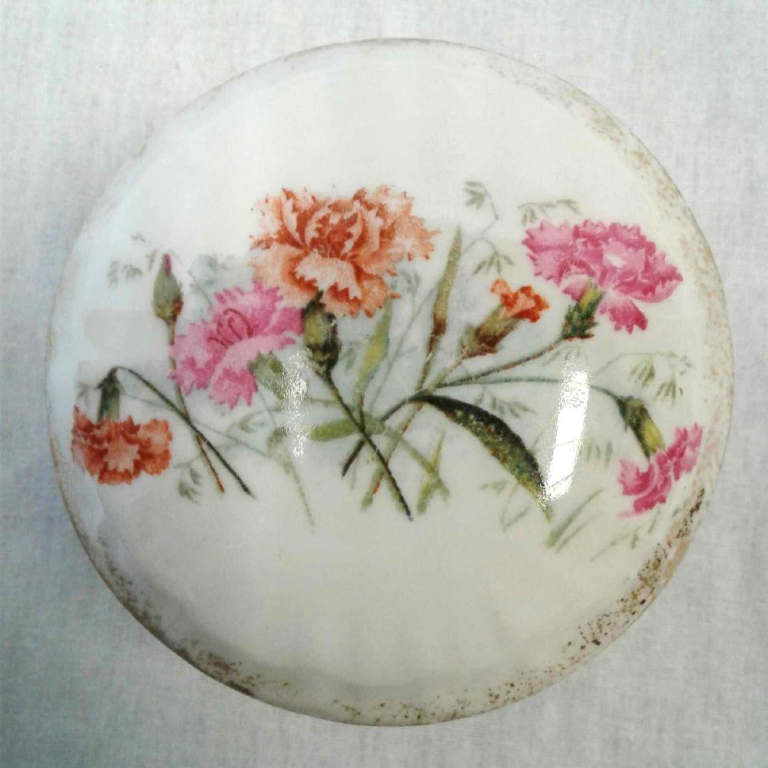 KPM Porcelain Lidded Trinket Dish - 2