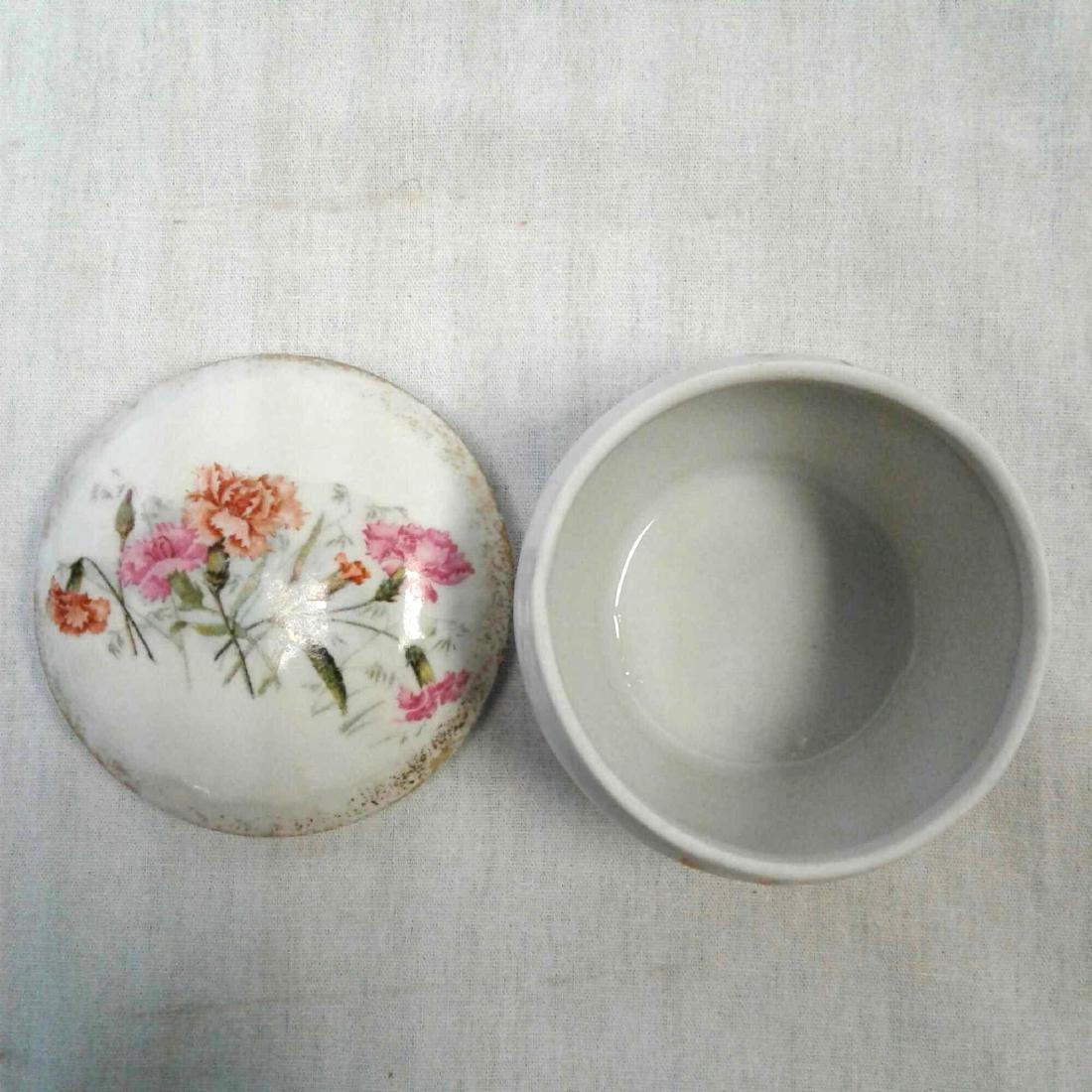 KPM Porcelain Lidded Trinket Dish - 5