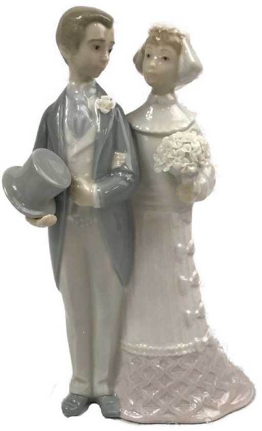 Lladro Figurine, Wedding Cake Topper