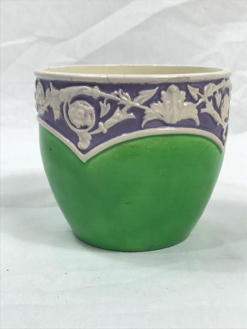 Glazed Pottery Bowl - 2