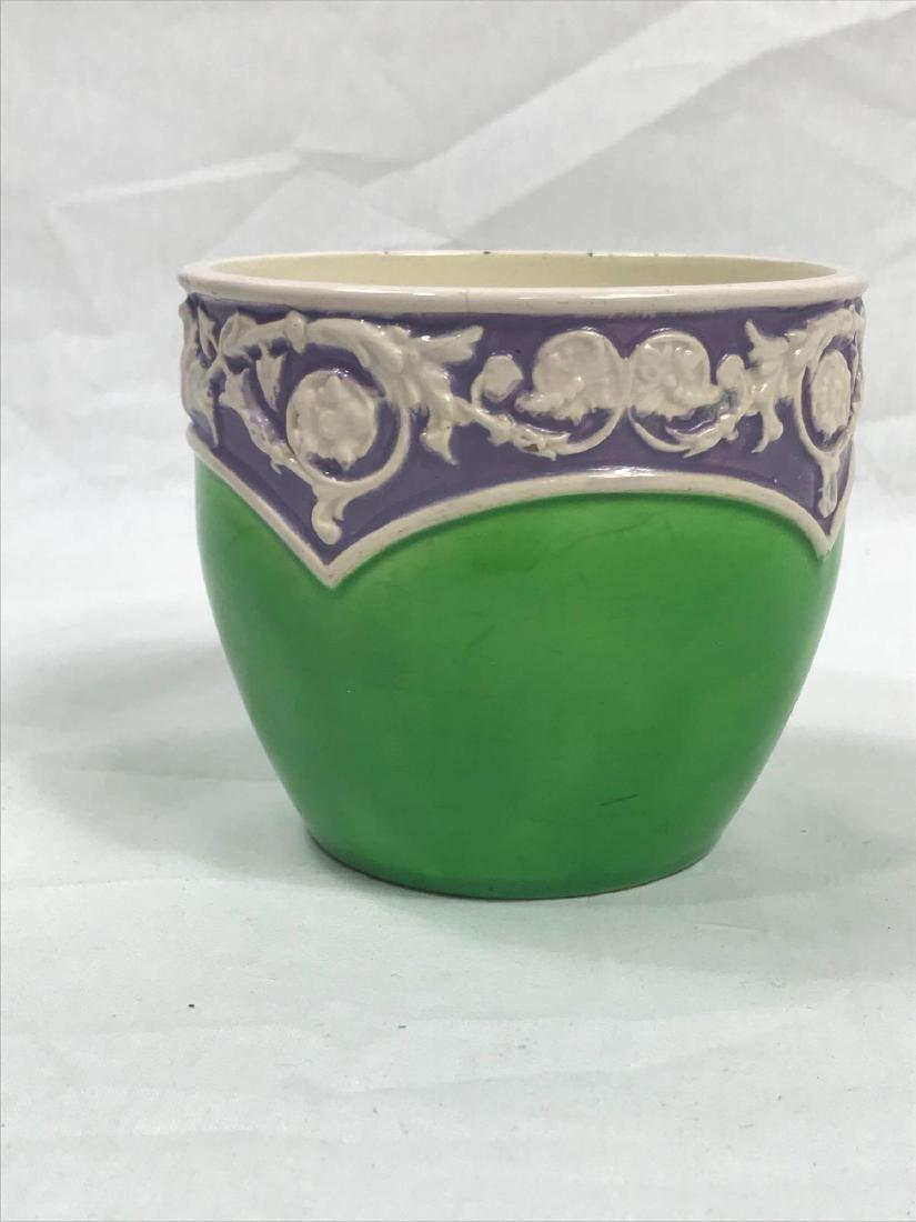 Glazed Pottery Bowl - 3