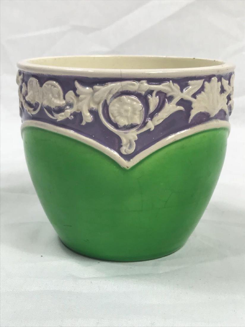 Glazed Pottery Bowl - 4