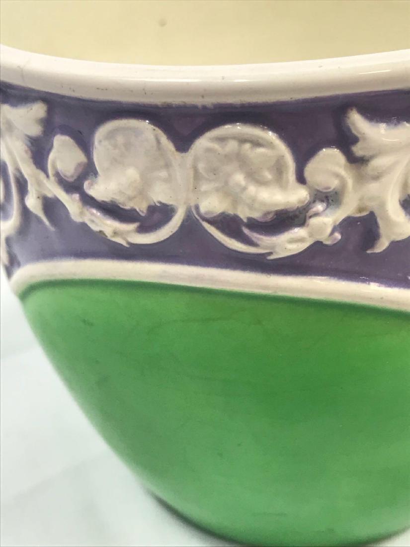 Glazed Pottery Bowl - 5