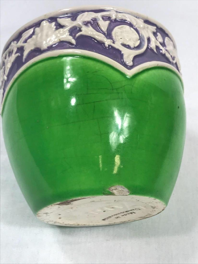 Glazed Pottery Bowl - 7