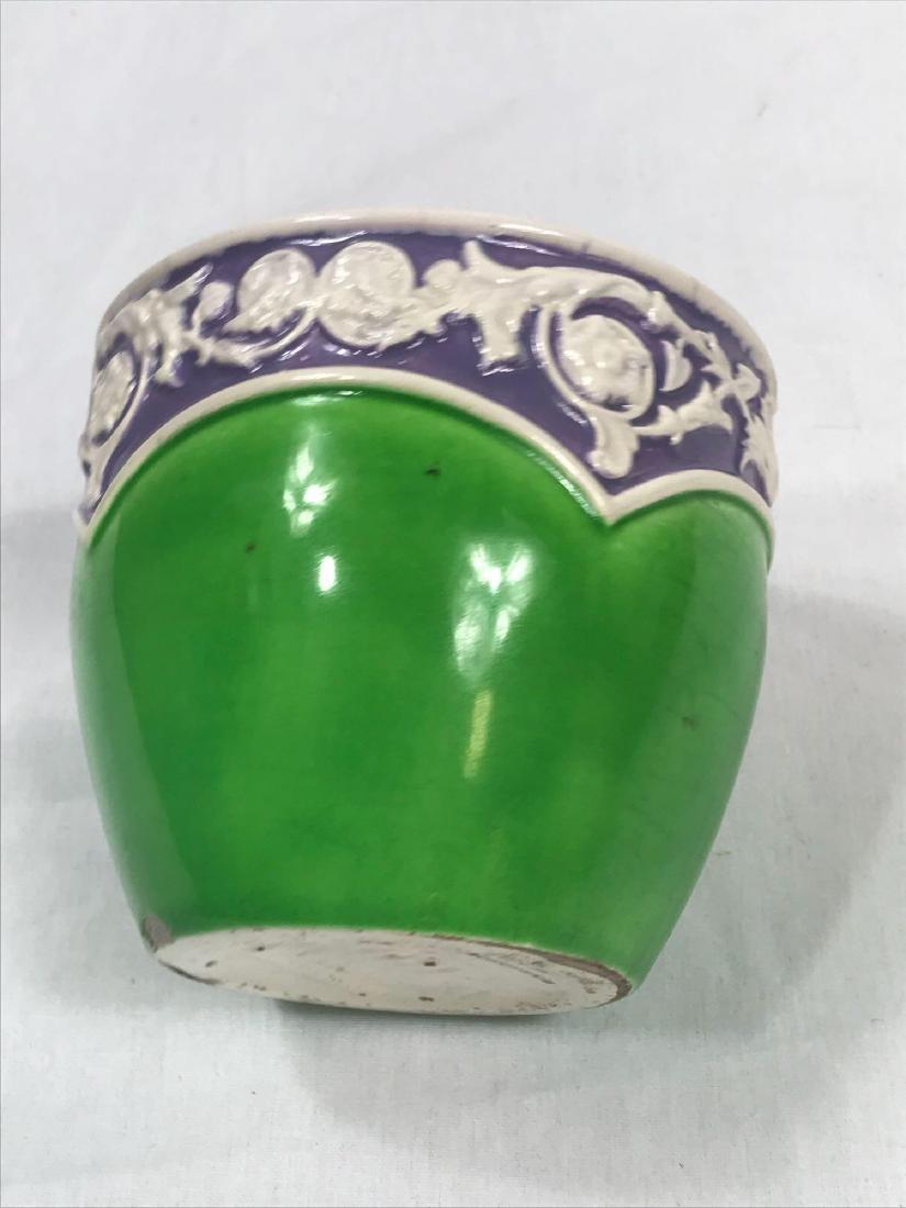Glazed Pottery Bowl - 8