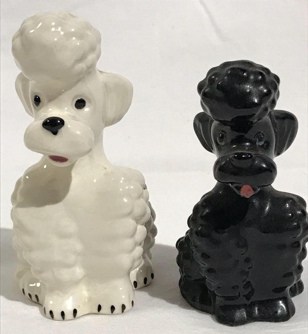 2 Goebel Poodle Ceramic Dog Figurines - 10