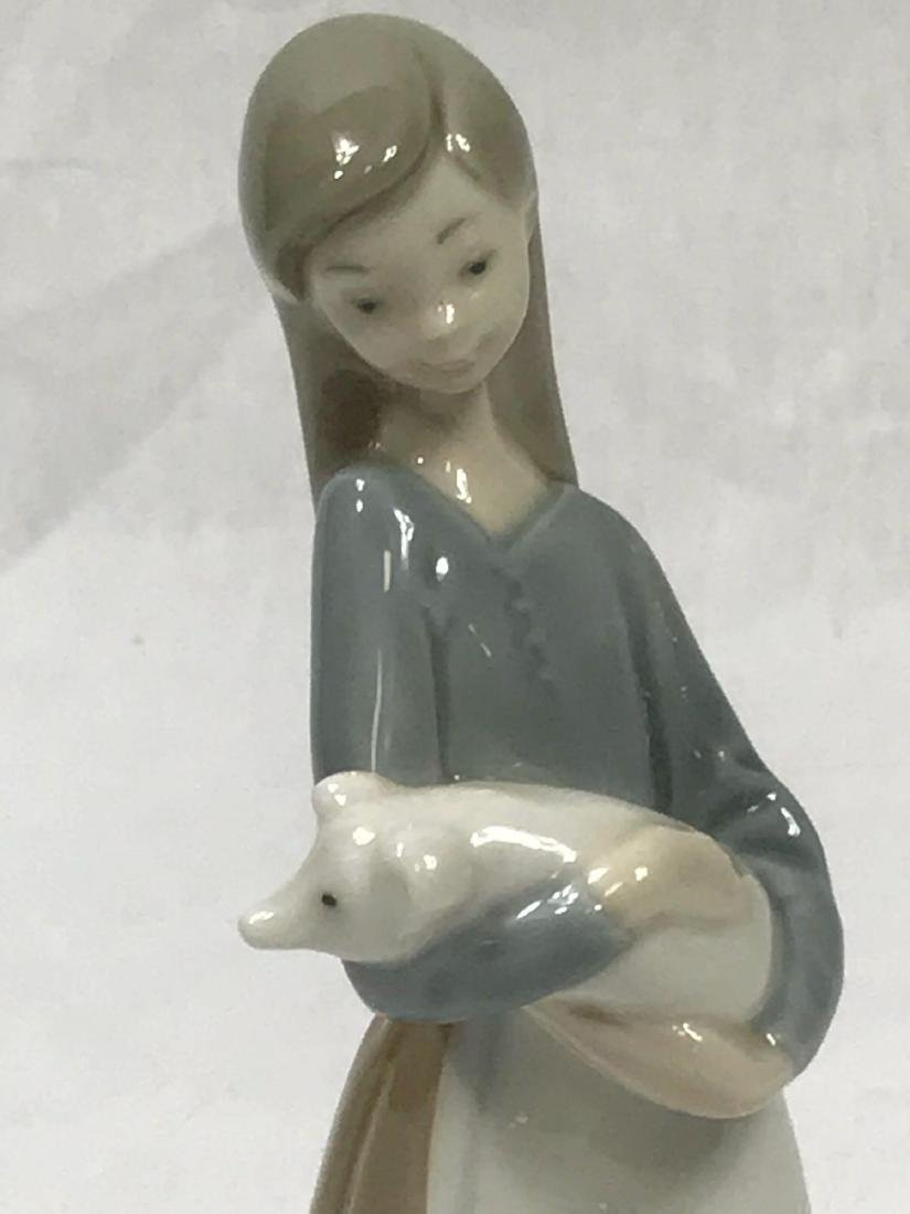 LLadro Girl With Baby Pig - 9