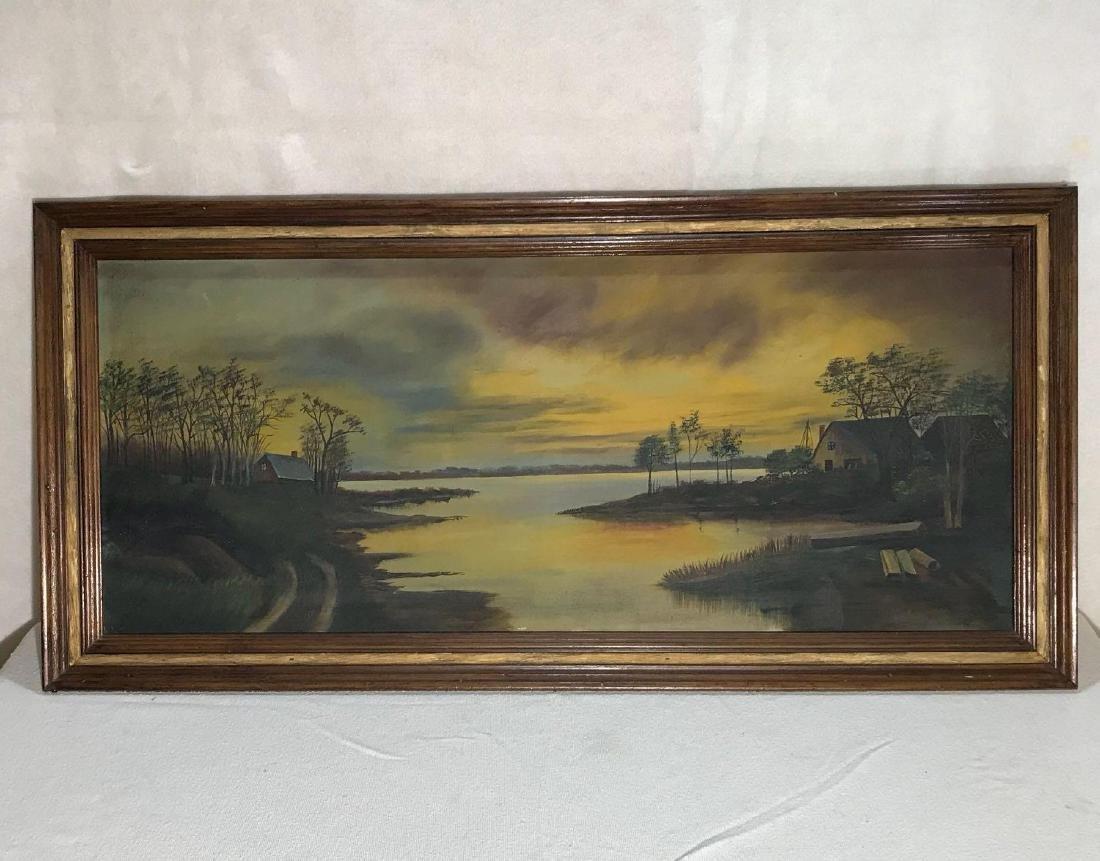 Original Signed Art Painting - 2